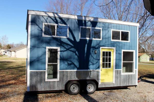 Chic Shack Yellow THOW by Mini Mansions Tiny Home Builders 001