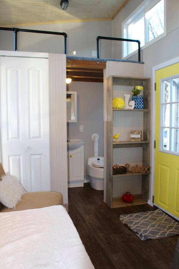 Chic Shack Yellow THOW by Mini Mansions Tiny Home Builders 0013