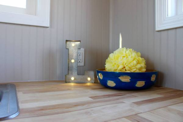 Chic Shack Yellow THOW by Mini Mansions Tiny Home Builders 0026