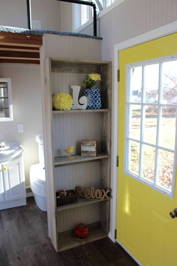 Chic Shack Yellow THOW by Mini Mansions Tiny Home Builders 0028