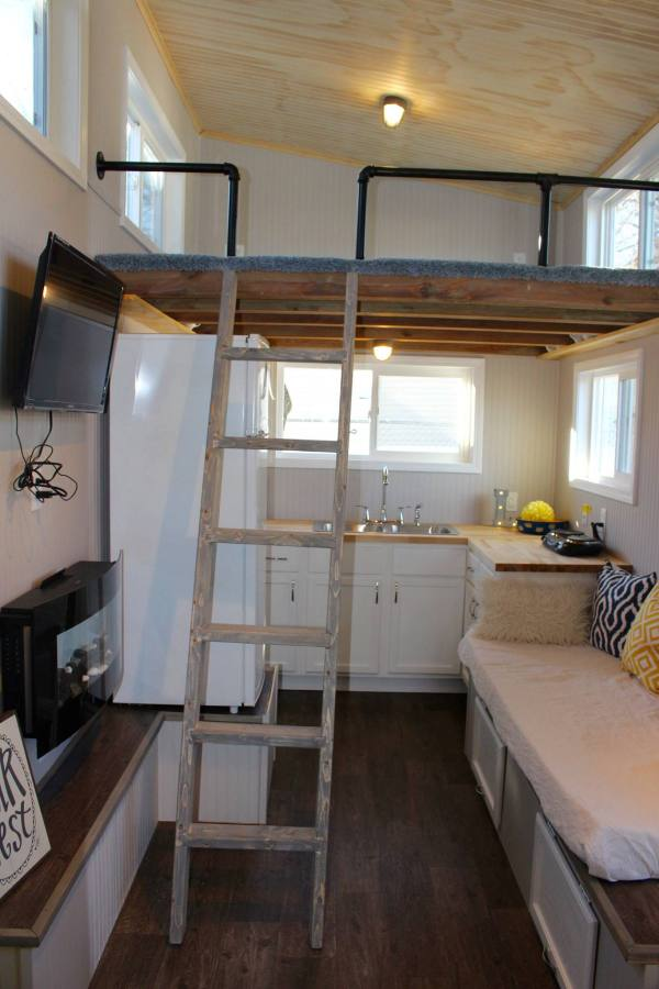 Chic Shack Yellow THOW by Mini Mansions Tiny Home Builders 003
