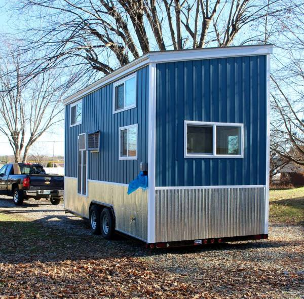 Chic Shack Yellow THOW by Mini Mansions Tiny Home Builders 0038