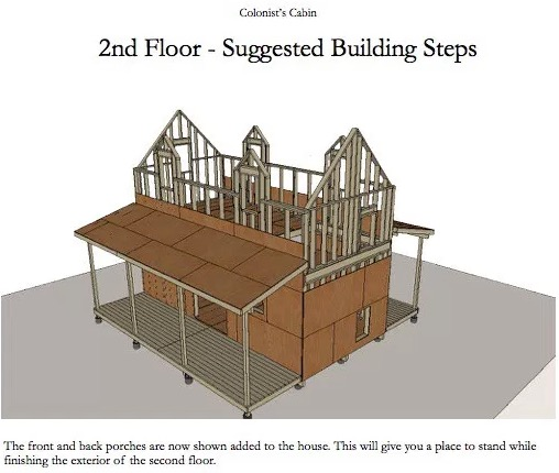 Colinsts Cabin Framing Plans by Michael Janzen