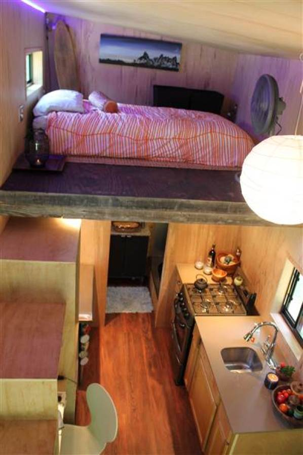 College Student Builds 145 Sq. Ft. Tiny House-002