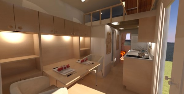 Comptche 24 Tiny House on Wheels 002