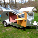 Cosmo's Tiny Vacation Teardrop Home on Wheels 2