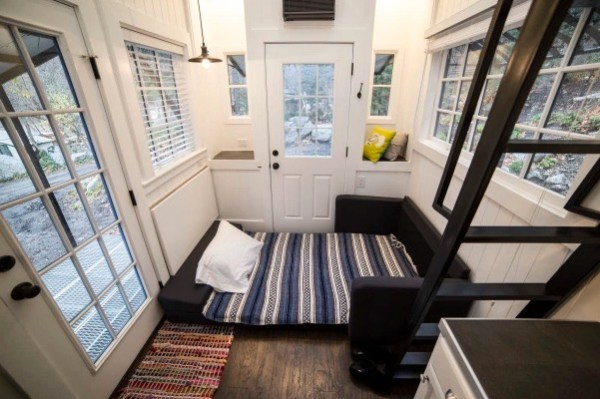 Couple's 192 Sq Ft Tiny House on Wheels in Sandy, Utah 005