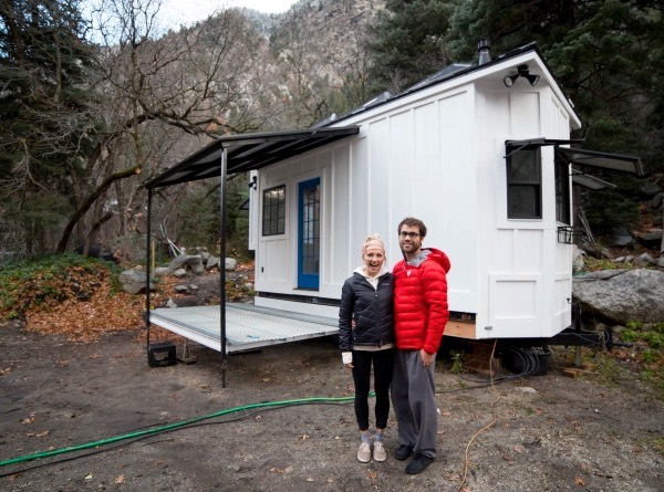 Couple's 192 Sq. Ft. Tiny House on Wheels in Sandy, Utah 0010
