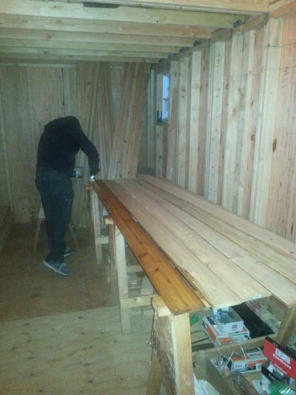Couples 20k DIY Tiny House Construction 0013