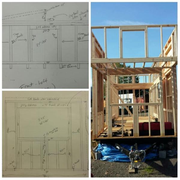 Couples 20k DIY Tiny House Construction 006