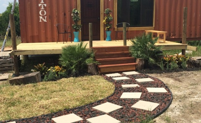 Couple Living Simply In Diy Shipping Container Tiny Home