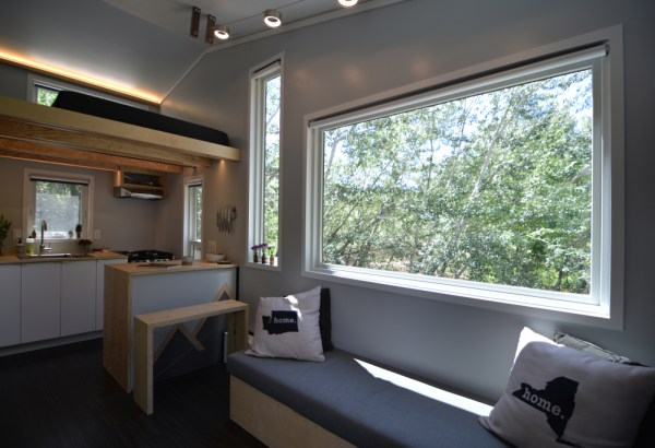 Couples Finished SHEDsistence Tiny Home 003