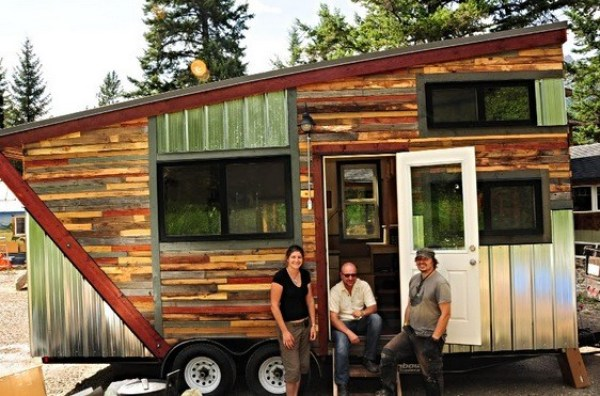 Cowboy Tiny House and Community in Canada