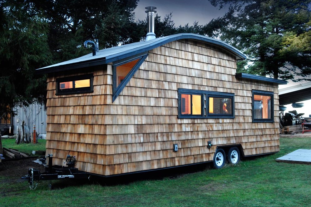 Tiny Home Designs: Curved 260 Tiny House: 32ft THOW By Structural Spaces