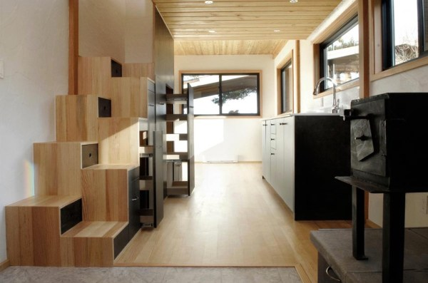 Curved 260 Tiny House: 32ft THOW by Structural Spaces