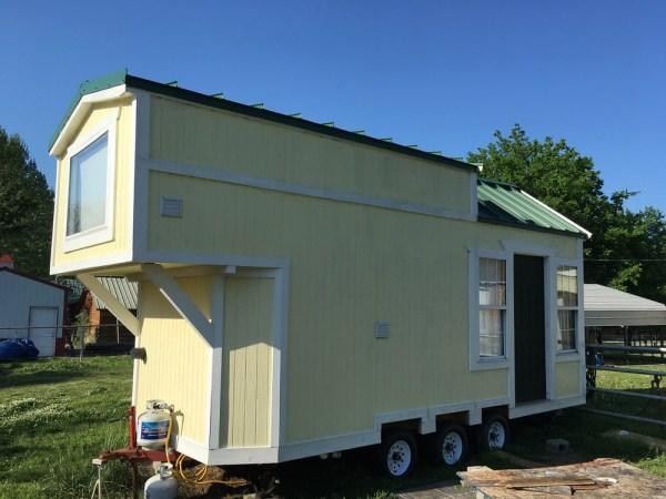 Custom 24ft Tiny Home with Oversized Loft 001