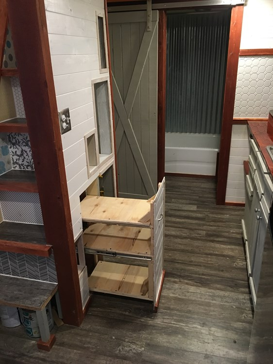 Custom 24ft Tiny Home with Oversized Loft 006