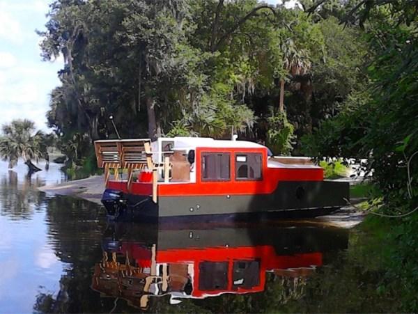 DIY Shantyboat in Florida 001