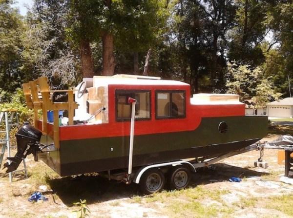 DIY Shantyboat in Florida 006