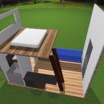 DJ's 8x12 Tiny House Design