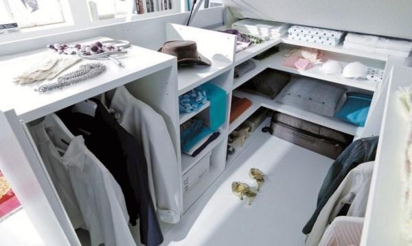 Dielle Space Saving Bed Walk In Closet 003
