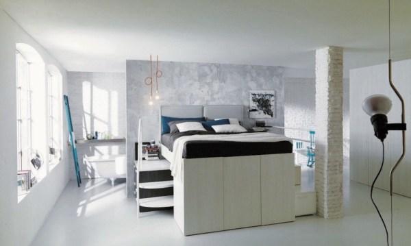 Dielle Space Saving Bed Walk In Closet 004