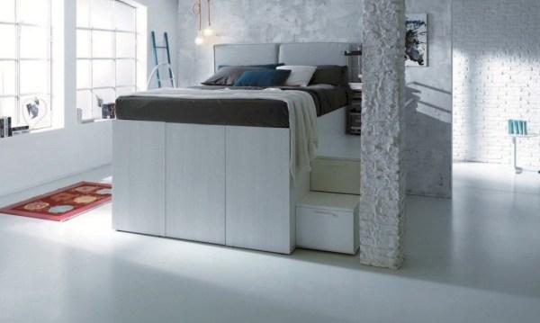 Dielle Space Saving Bed Walk In Closet 006