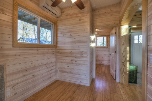 DoubleWide Container Home with Rustic Interior