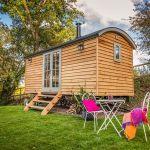 Duck Shepherd's Hut in Somerset