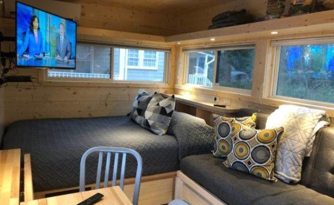Escape Tiny House Vacation In Atlanta Super Bowl Tiny