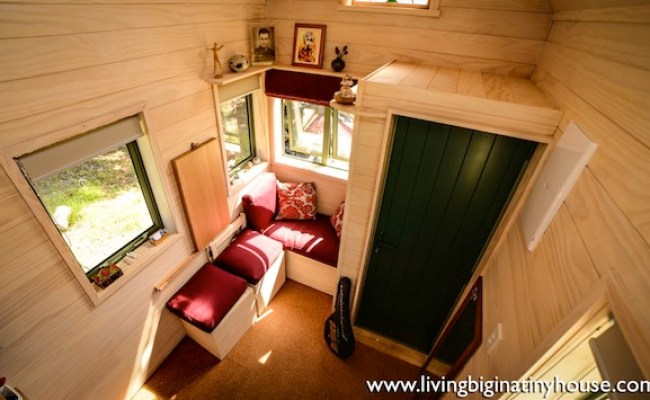 New Zealand Woman Lives Simply In 121 Sq Ft Tiny House