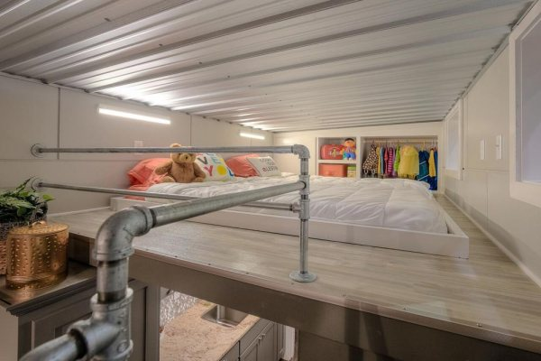 Empty Nester Shipping Container Tiny House