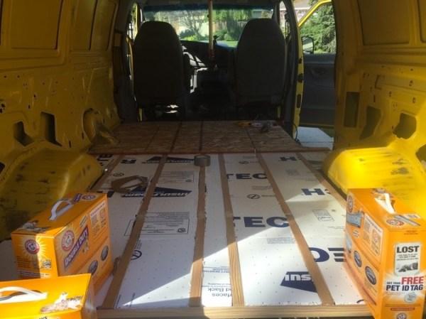 Evan's DIY Conversion Van Tiny Home 0010