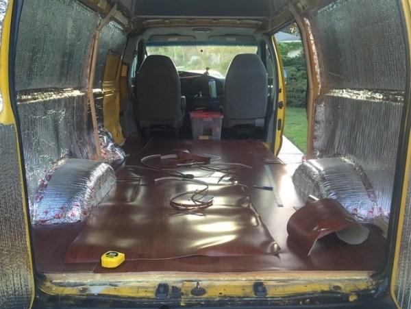 Evan's DIY Conversion Van Tiny Home 0023