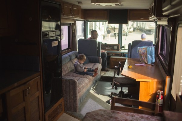 Familys Bus Tiny Home 002