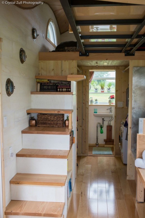 Family's Life in their Beautiful Tiny Home 0017