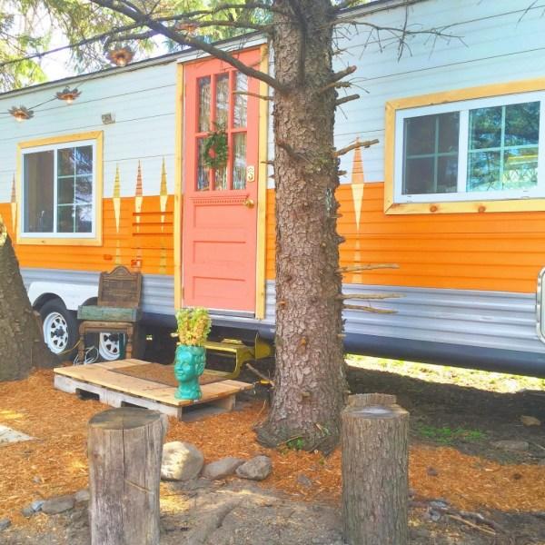 Familys Travel Trailer Tiny House 0011