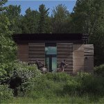 Father and Son Design and Build Transforming CNC Minimalist Tiny Cabin 001