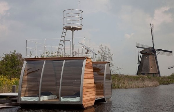 Free Floating Tiny Home in the Netherlands 006