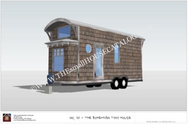 Free Tiny House Plans Bohemian THOW 001