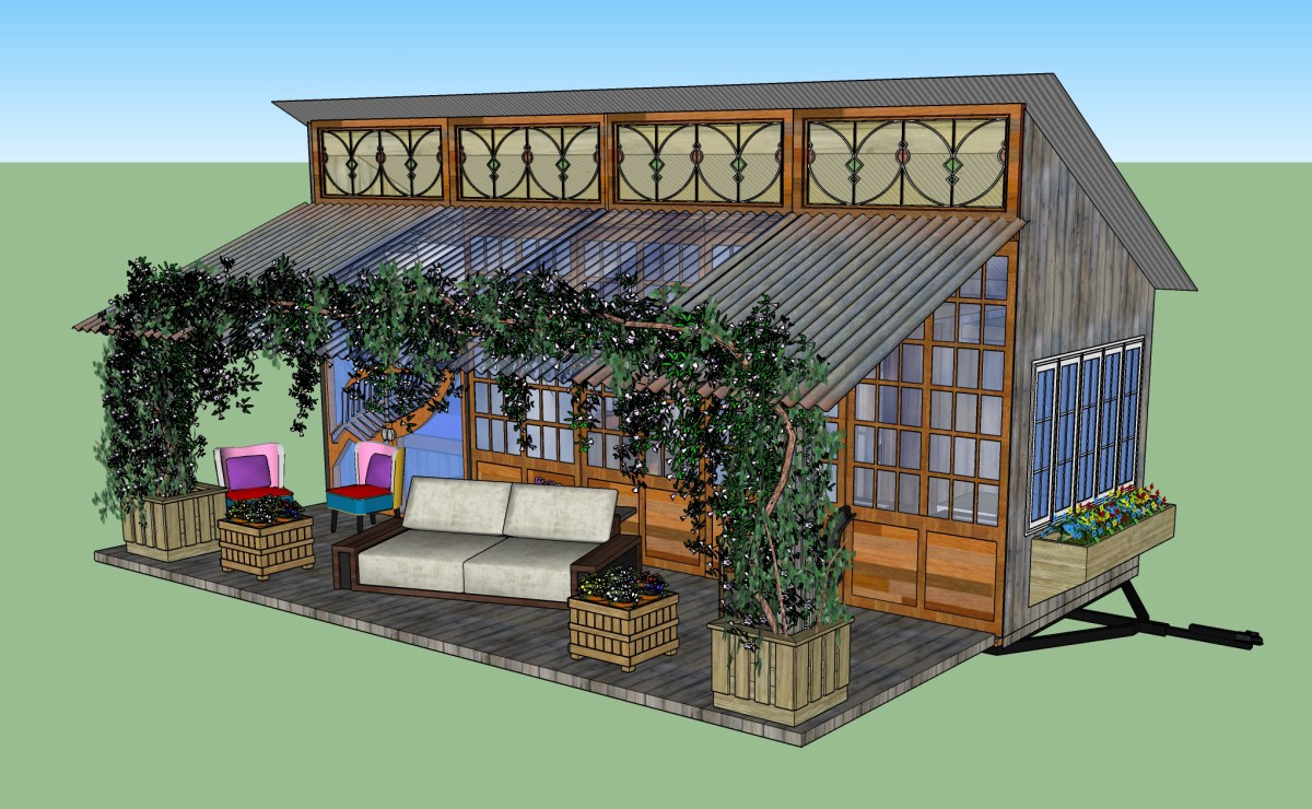 The geaux tiny house with sip frame for Sips panels for sale