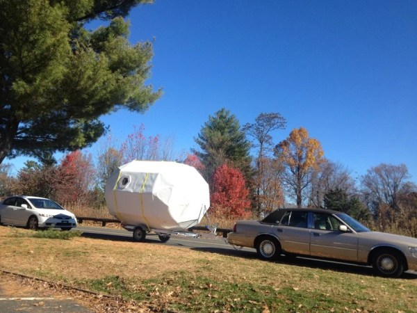 Geo-Dome Life Pod Travel Trailer by Michael Weekes 0012