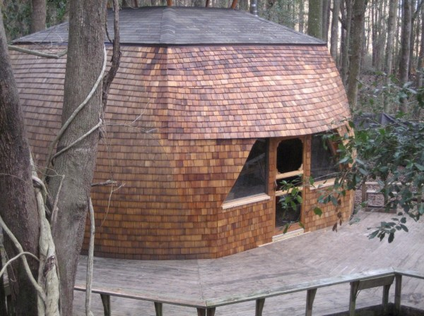 Geodesic Domes at Hostel Forest 001