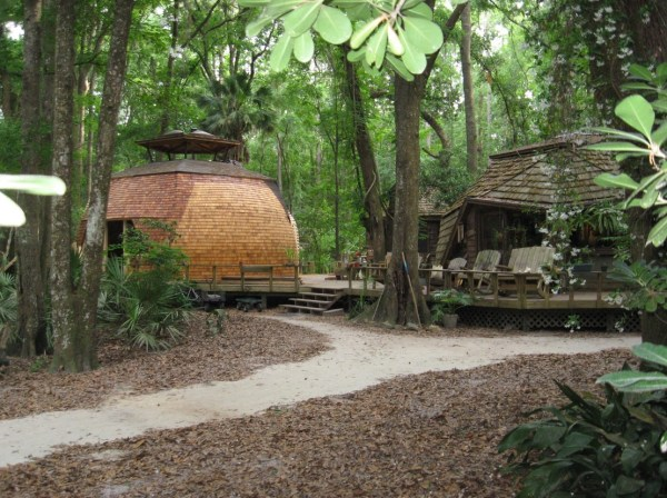 Geodesic Domes at Hostel Forest 006
