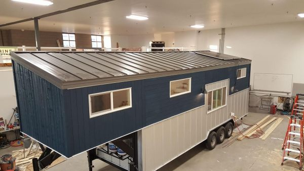 28 u0026 39  gooseneck trailer tiny house by alpine tiny homes