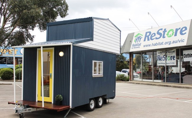 Habitat For Humanity Builds A Tiny House In Australia