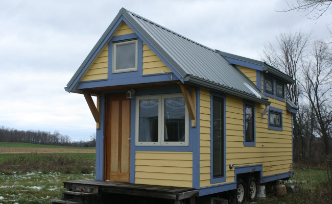 Hammerstone School S First Tiny House For Sale Built By