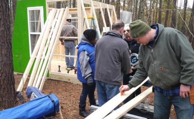6 7 Spots Left For Hands On Tiny House Workshop In Nc