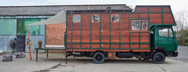 Helga Tiny House Truck Conversion by House Box 0040