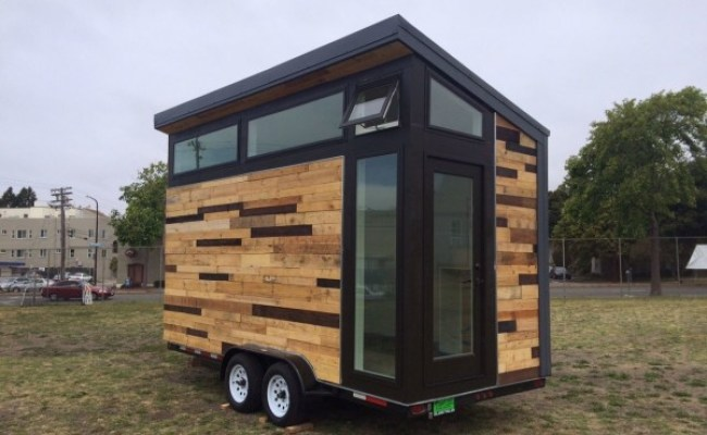 High School Students Build Tiny Houses On Wheels